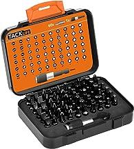 Tacklife 61 in 1 Screwdriver Bit Set, PSDB1A Precision Magnetic Driver Kit with 60 Multi-Size Screw Bits, ANSI Standard, Box Case Original