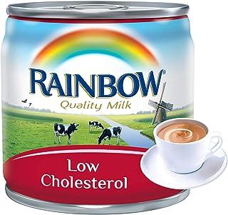 Rainbow Evaporated Low Cholesterol Milk, 170 gm