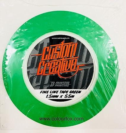 Ultra Flexibles Vinyl Klebeband Für Airbrush Custom 1 5 Mm Auto