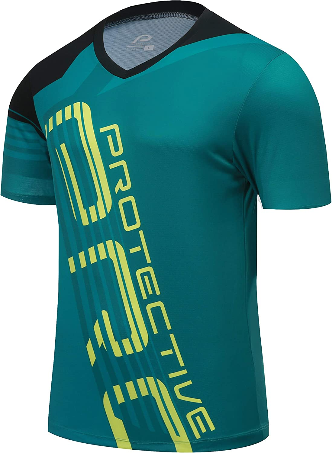 Protective Men's Cycling Save money v-Neck Jersey MTB Loose Sleeves f Short Ranking TOP20