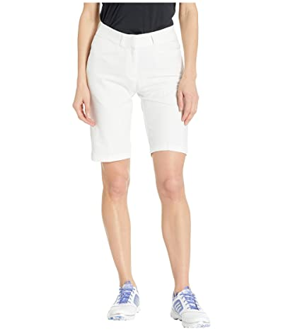 adidas Golf Club Bermuda Shorts (White) Women
