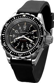 ww194006 gsar cuestión Militar Swiss Made Diver Reloj automático Esfera estéril con Tritium