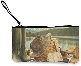 Coin Purse Gallery Pineapple Mens Fastener Canvas Wallet ChangeFabulous Bag