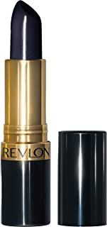 Revlon Super Lustrous Lipstick, with Vitamin E and Avocado Oil, Cream Lipstick, 043 Midnight Mystery, 0.15 oz