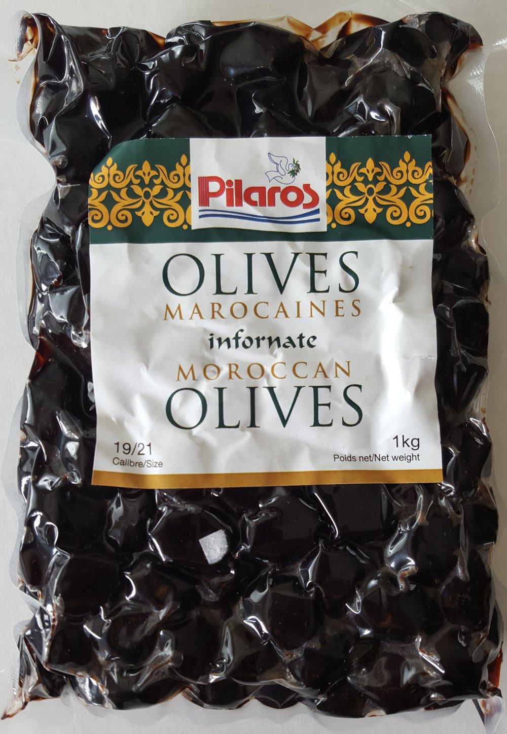 Pilaros online Oakland Mall shopping Morrocan 1Kg Olives