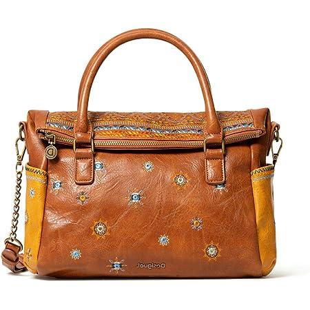 Desigual Bols Luluove Loverty Handtasche 29 cm camel