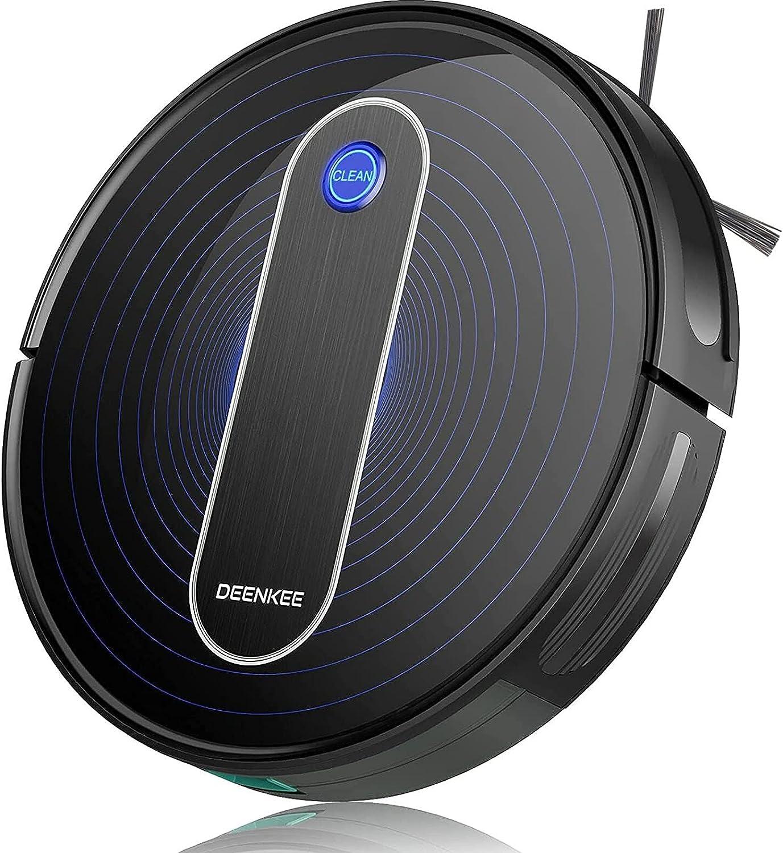 Robot Vacuum Finally resale start Deenkee Cleaner Upgraded Sucti 2000PA Department store