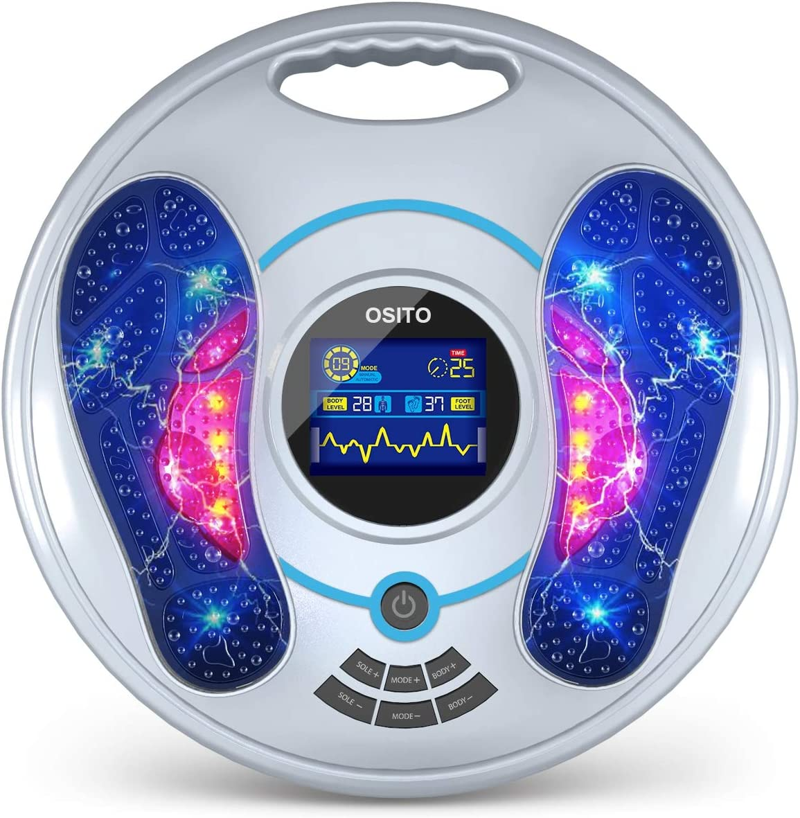 Electrical Pulse Foot Massager - Special price for a limited Ranking TOP18 time Machine and Legs Feet