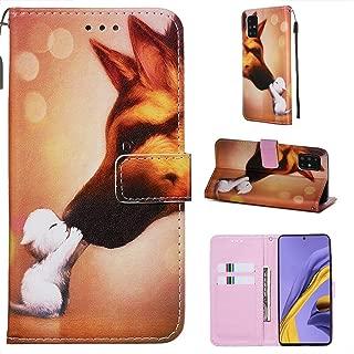 Miagon per iPhone 8 Plus Custodia CoverGatto Albero Farfalla PU