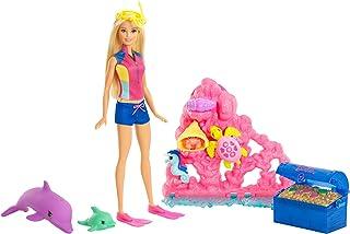 Barbie Dolphin Magic Ocean Treasure Playset