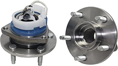 Detroit Axle 513121 Front Wheel Hub and Bearing Assembly Pair for Buick Century Regal,..