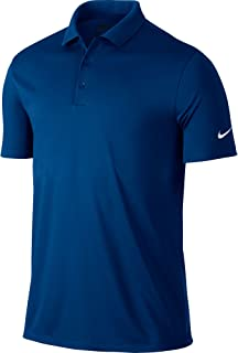 Golf Victory Solid Polo (Blue Jay/White) (Large)