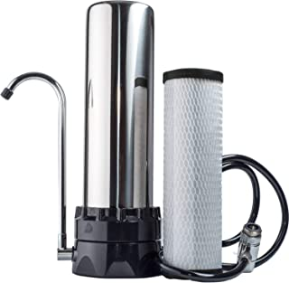 The Stainless Steel Countertop Lead Reduction Water Purifier Filter (.5 Micron Carbon Block)
