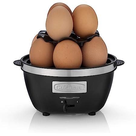 Cuisinart CEC10E Cuiseur à oeufs électrique compact, pour omelettes, oeufs cuits et pochés, 600W
