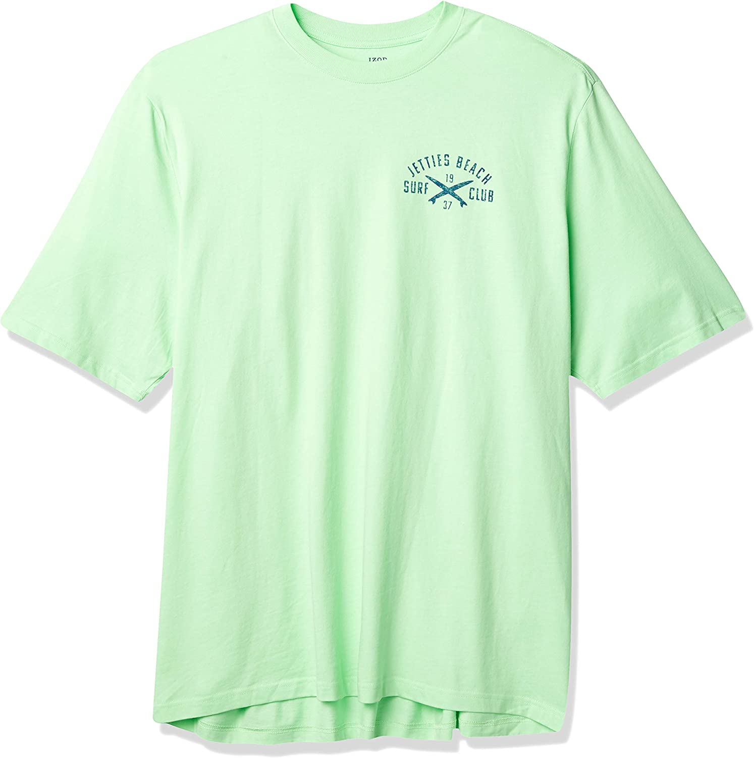 IZOD Men's Big and Tall Saltwater Short Sleeve Graphic T-Shirt