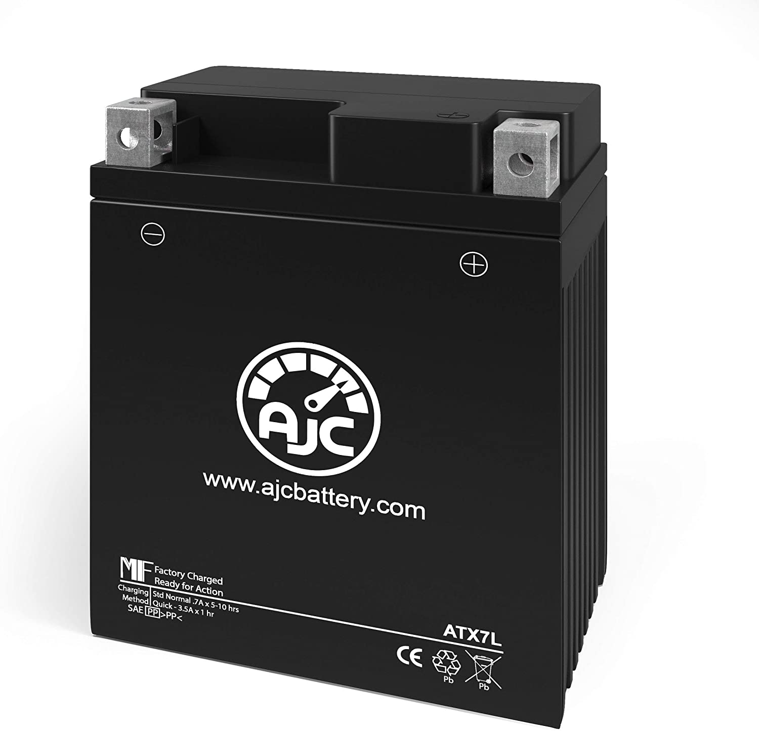 OFFicial mail order ATK Courier shipping free 406 406CC Motorcycle Replacement Battery - This 1988-1990