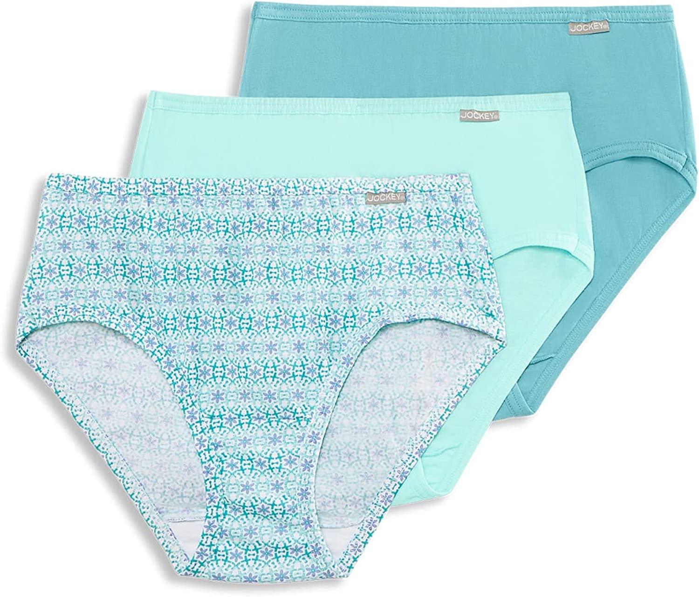 Jockey Women's Underwear Plus Size Elance Hipster - 3 Pack