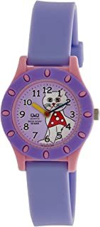 Q&Q Regular Analog Purple Dial Children's Watch - VQ13-010