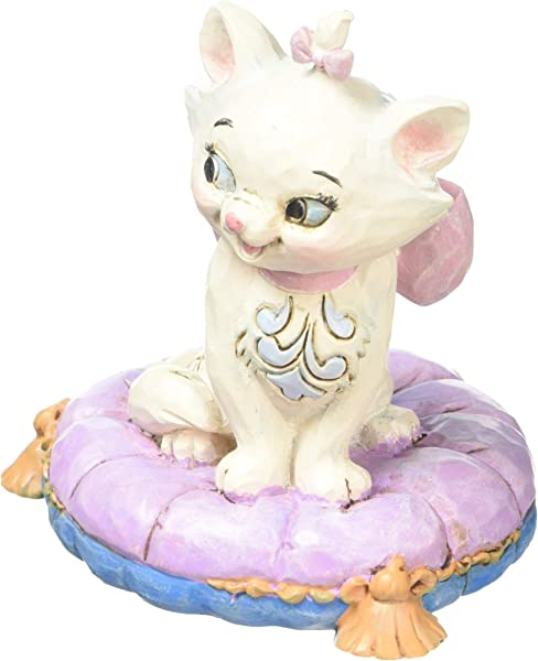 Enesco Disney Traditions By Jim Shore Aristocats Marie Miniature Figurine 2 875 Multicolor