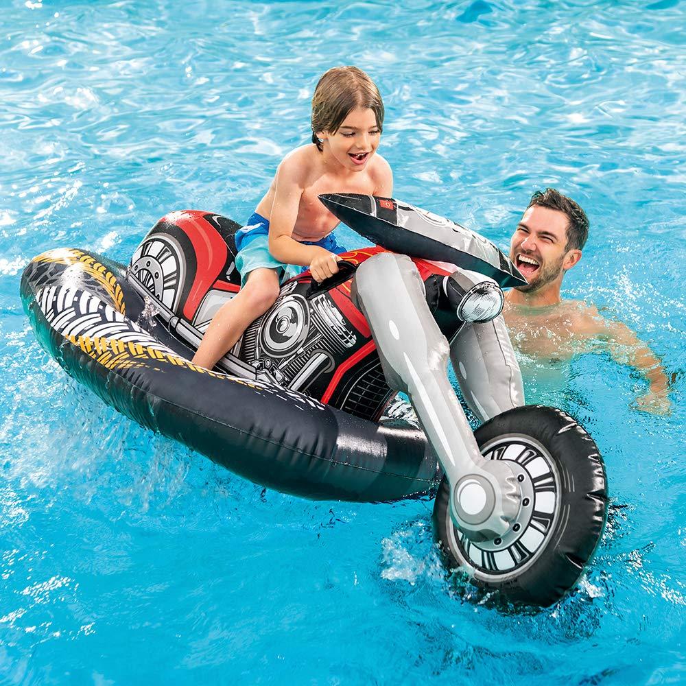 Intex Flotador, Moto Custom, Multicolor (57534): Amazon.es: Juguetes y juegos