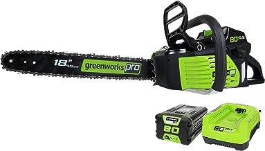 greenworks 18 inch chainsaw