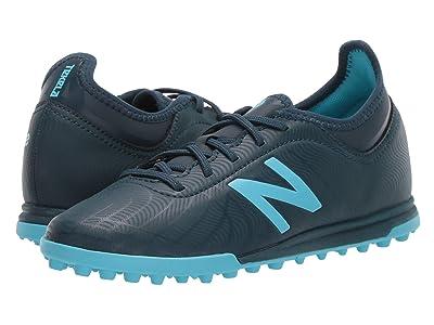 New Balance Kids JSTTTv2 Soccer (Little Kid/Big Kid) (Supercell/Bayside Blue) Kids Shoes
