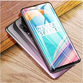LZHANDA Protectores de Pantalla 3D Curved For 7 Pro 6T Screen Protector Nano Hydration Film 7 5T 6 3 Full Screen Cover Not Tempered Glass For oneplus 5T with Tools 2piece Front Film