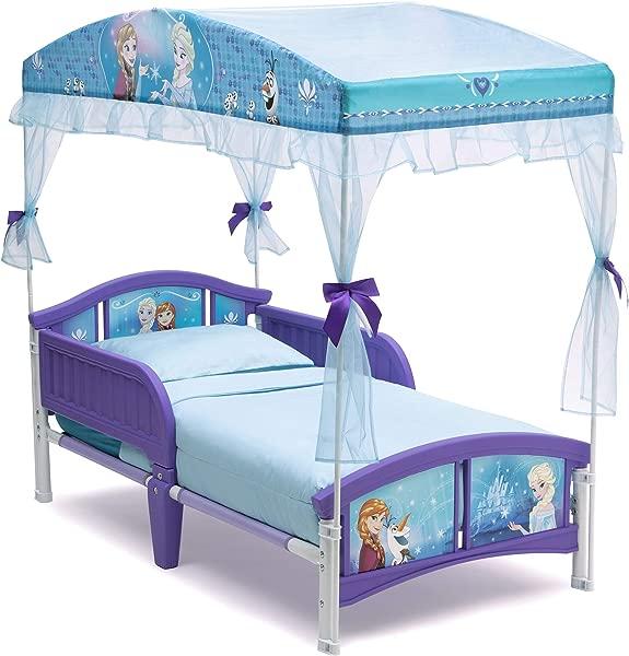 Delta Children Canopy Toddler Bed Disney Frozen