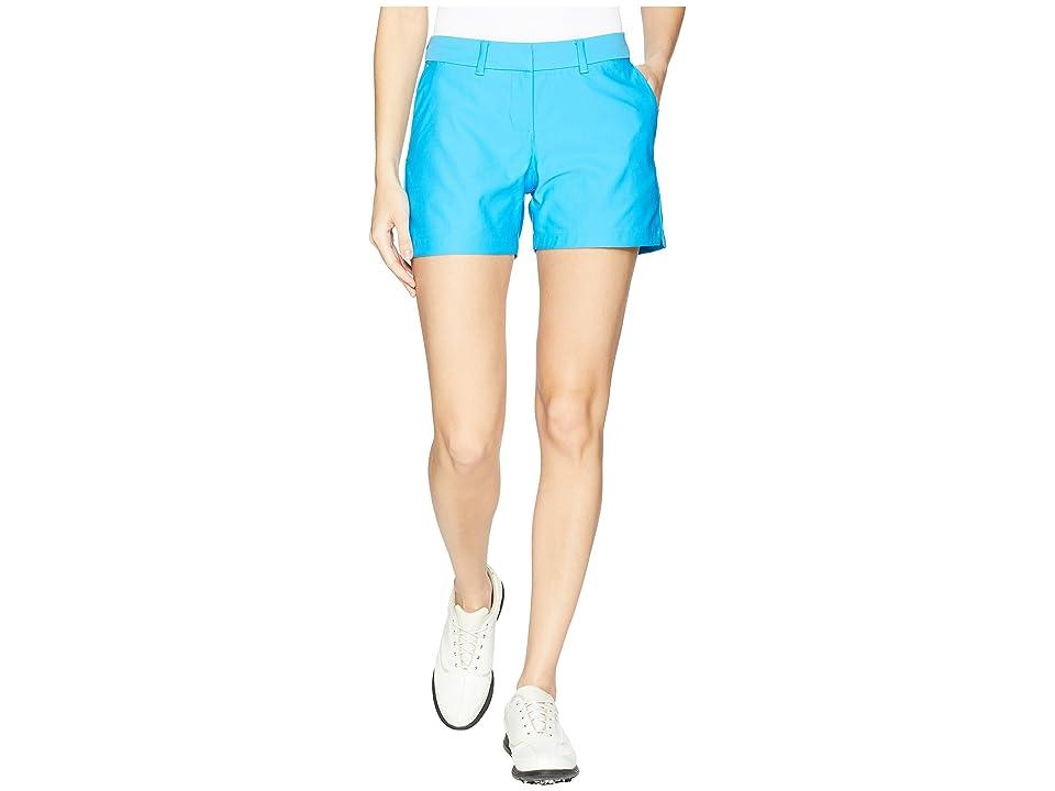 Nike Golf Flex Shorts Woven 4.5 (Equator Blue/Equator Blue) Women