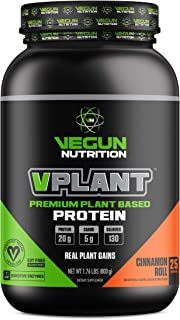 VPLANT Vegan Protein Powder – Plant Based Lean Muscle Building Shake   Best Pea + Sacha Inchi Protein – Best Lean Meal Sha...