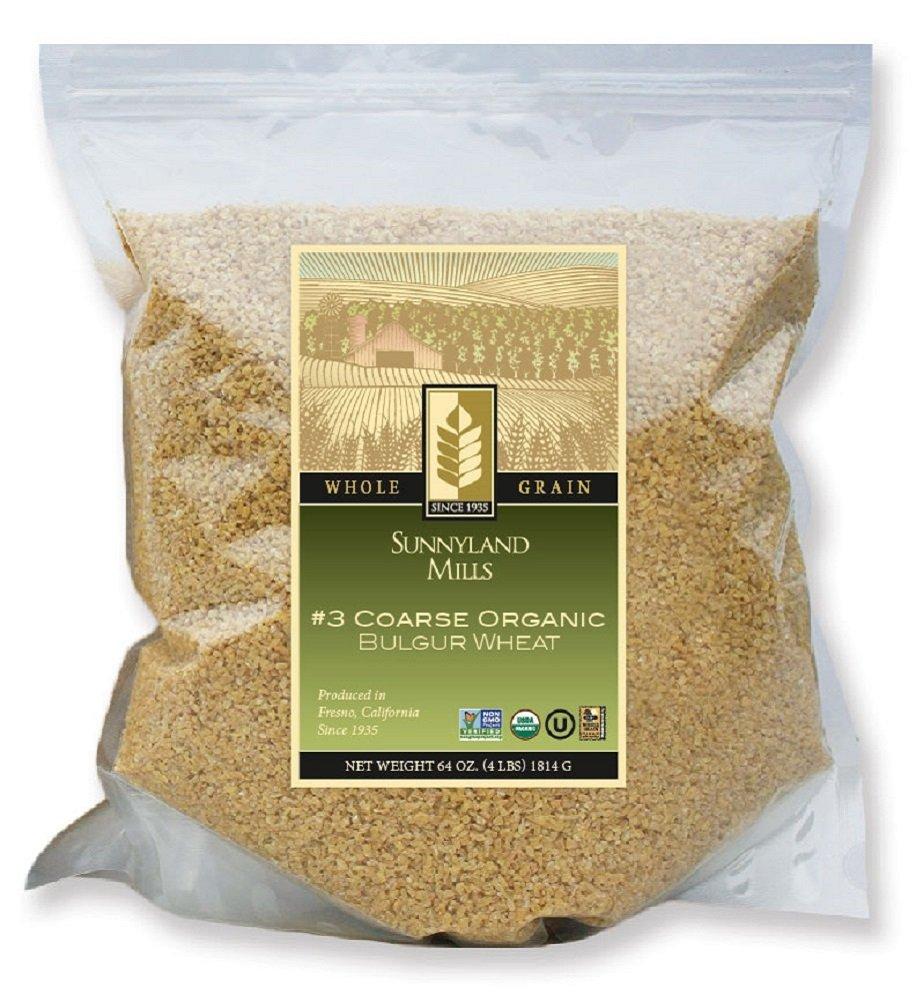 #3 Coarse Organic Bulgur Wheat, 4lbs (2 pack)
