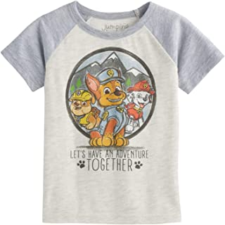 Toddler Boys 2T-5T Paw Patrol Chase Rubble & Marshall Short-Sleeve Tee