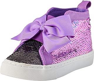 JoJo Siwa Girls' High Top Reversible Sequin Sneakers (Little Girl/Big Girl)
