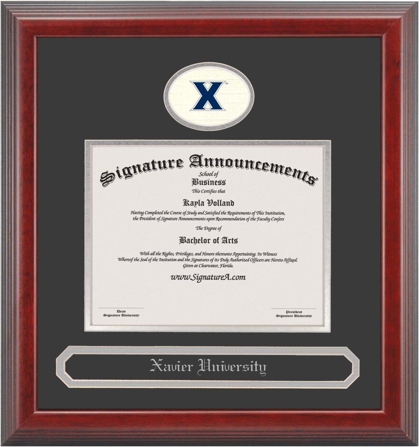 Signature Announcements Xavier-University Max Max 65% OFF 81% OFF Profess Undergraduate