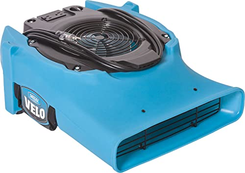 Dri Eaz Velo Air Mover F504 Professional Water Damage Dryer for Carpets, Walls, Floors, 1.9 Amp Saves Power, 1-Speed,...