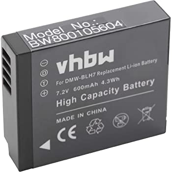Vhbw Akku 950mah Mit Infochip Für Kamera Panasonic Kamera