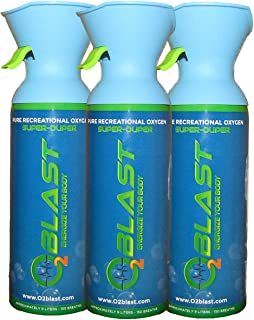 99.7% Pure Oxygen Supplement, Quick Recovery for Exercise, Motion Sickness, Altitude Sickness, Mental Clarity, and Focus. ...