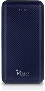 Syska 20000 mAh Li-Polymer P2006J Power Core200 Power Bank (Blue)