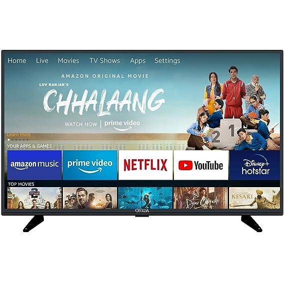 Onida 80 cm (32 Inches) Fire TV Edition HD Ready Smart LED TV 32HIF1 (Black)
