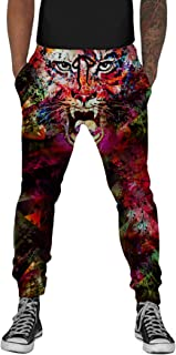 UNIFACO Unisex 3D Digital Print Sports Jogger Pants Casual Graphric Trousers Sweatpants with Drawstring