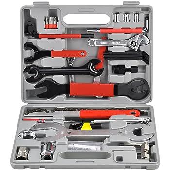 Mctech 44 Tlg Fahrrad Werkzeug Fahrrad Reparaturset Fahrrad