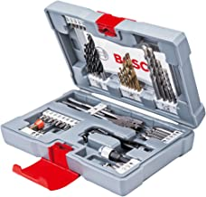 Bosch Premium X-Line Broca de diamante 18 pieza(s) - Brocas (Taladro, Broca de diamante, Concreto, Metal, Madera, 3-8, 2-6, Gris, Acero inoxidable)