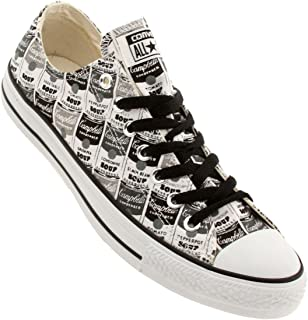 x Andy Warhol Men Chuck Taylor All Star Low Ox (Black/White/Mason)