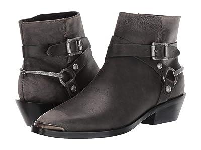 Sigerson Morrison Jade (Dark Gray Distressed Leather) Women