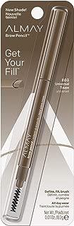 Almay Eyebrow Pencil, Universal Taupe, 1 count with eyebrow brush
