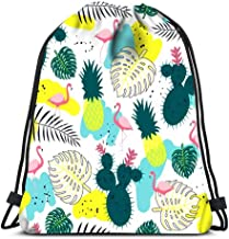 Drawstring Backpack Bags Cartoon Emo Girl Skull With Hair And Crossed Bones Heart Inscription Love Folding Cinch Bag Bags