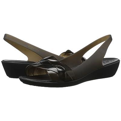 Crocs Isabella Slingback (Black/Black) Women