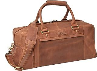 Menzo Reisetasche aus echten Leder, Reisegepäck, Delta