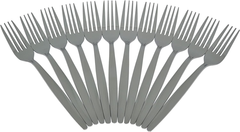 Argon Tableware Dinner Forks Stainless OFFicial shop Set Steel - of 2021 12