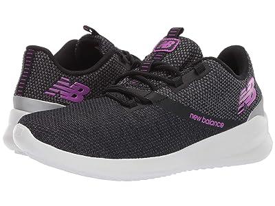 New Balance CUSH+ District Run (Black/Voltage Violet) Women